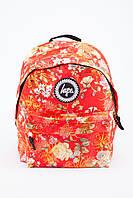 Рюкзак с принтами HYPE (красный)