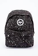 Рюкзак с белыми пятнами HYPE (черный)