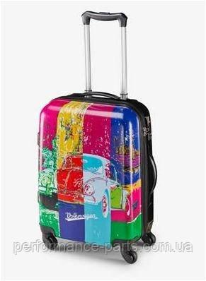 Чемодан на колёсиках Volkswagen Pop Art Beetle Cabin Trolley, Multicolour, артикул 311087301