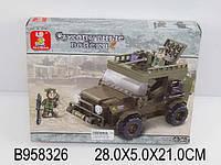 Конструктор SLUBAN «Сухопутные войска» M38-B0298