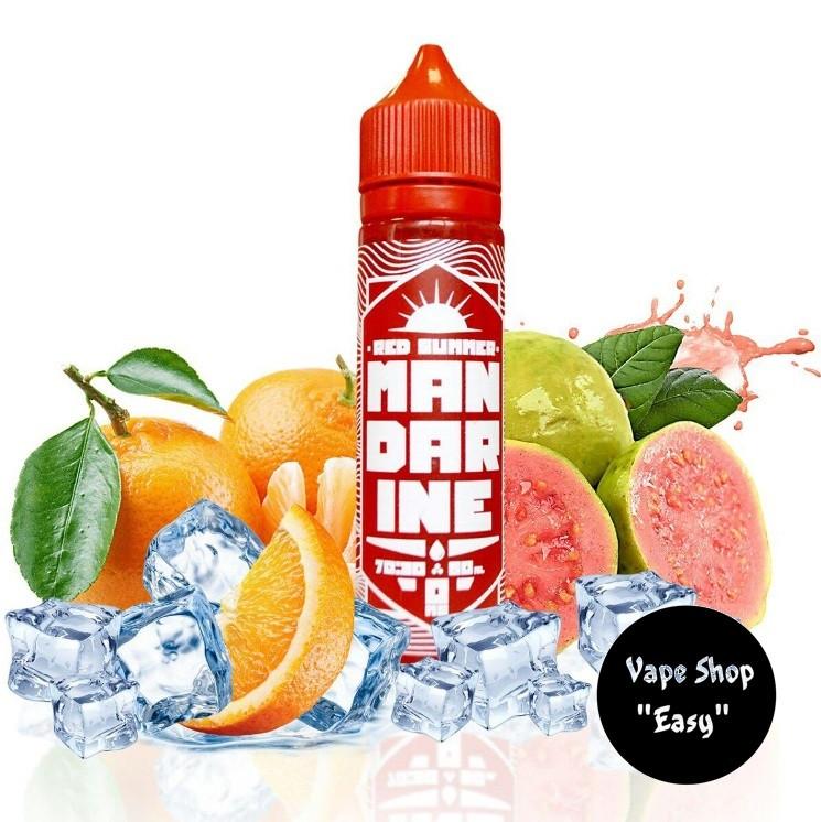 Red Summer Mandarine Guava60 ml Премиум жидкость (заправка) для электронных сигарет.
