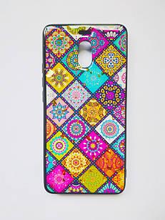 Чехол мраморныйдля Meizu M6 Note (3 цветов)