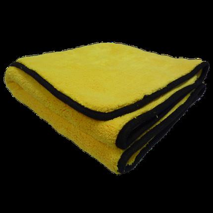 Полотенце микрофибровое с кантом для сбора воды - Meguiar's Supreme Drying Towel 55x76 см. желтый (X1802EU), фото 2
