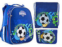 "Набор: рюкзак ортопедический + сумка для обуви + пенал  H-25 Born To Play"" «Yes», 556183-1, фото 1"