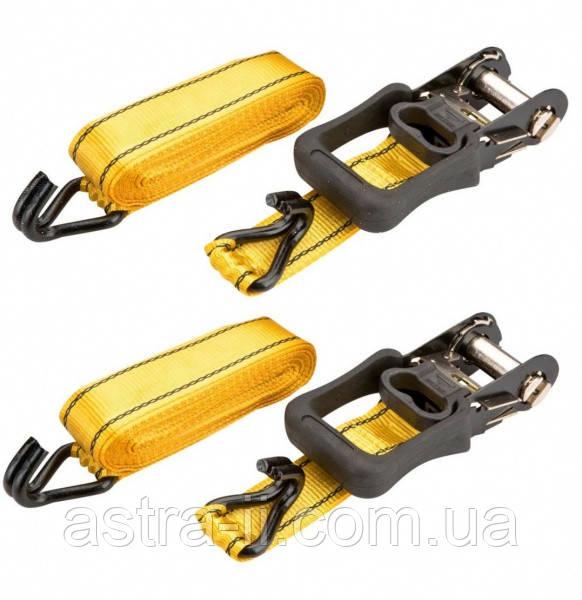 Стяжки для багажу, 30 мм, l=4,5 м x 2шт.