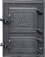 Чугунные дверцы  DPK2WP 392x293, фото 1