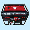 Генератор бензиновый трехфазный FORESTER EC5500 E3 (5,0 кВт)