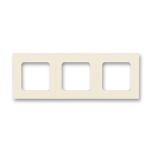 Рамка 3 постовая, слоновая кость/белый 3901H-A05030 17, Levit Elektro-Praga ABB