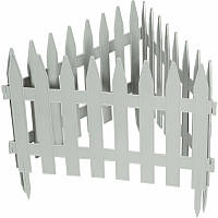 "Забор декоративный ""Рейка"" 28 x 300 см, белый, PALISAD"