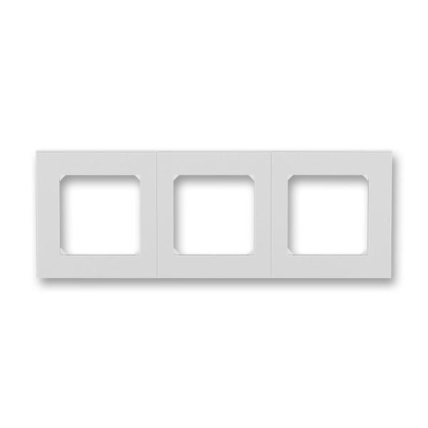 Рамка 3 постова, сірий/білий 3901H-A05030 16, Levit Elektro-Praga ABB