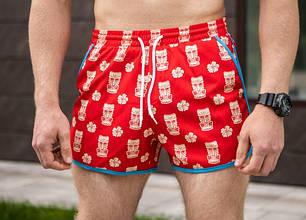 "Мужские пляжные шорты Pobedov swimming shorts ""Neo Statuetki"" (M, L размеры), фото 2"
