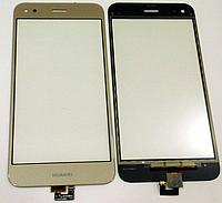 Оригинальный тачскрин / сенсор (сенсорное стекло) Huawei Nova Lite 2017 (SLA-L22)   P9 Lite Mini (золотой)