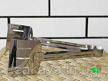 Щипці сервірувальні, нержавіюча сталь, 245 мм