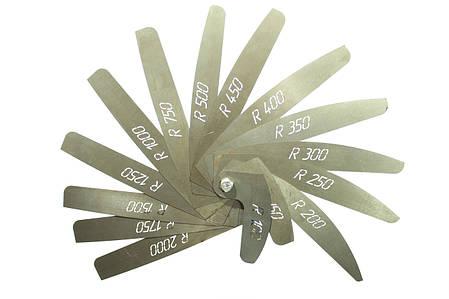 Комплект шаблонов радиусомеров 0,5 мм, фото 2