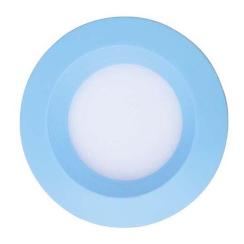 LED светильник встр. FERON AL525 3W круг, голубой 240Lm 5000K 90*26mm