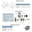 """Насос центробежный 380В 1.1кВт Hmax 19.5м Qmax 500л/мин 2"""" LEO (7752783), фото 2"""