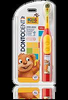 Детская электрическая зубная щетка SauBär аккумулятор