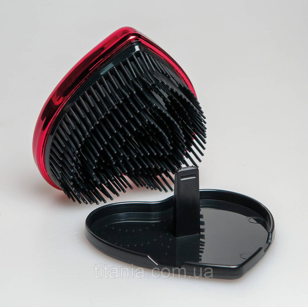 Щітка для вологого волосся у формі серця TITANIA 1779 BOX
