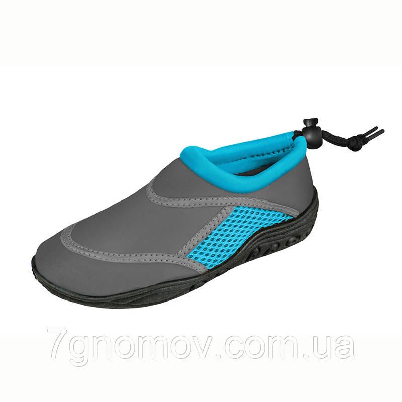 Аквашузы, тапочки для кораллов, обувь для плавания, серфинга, сплавов Seashoes Blue/Grey