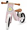 Деревянный велосипед UNIQ Kinderkraft (розовый)