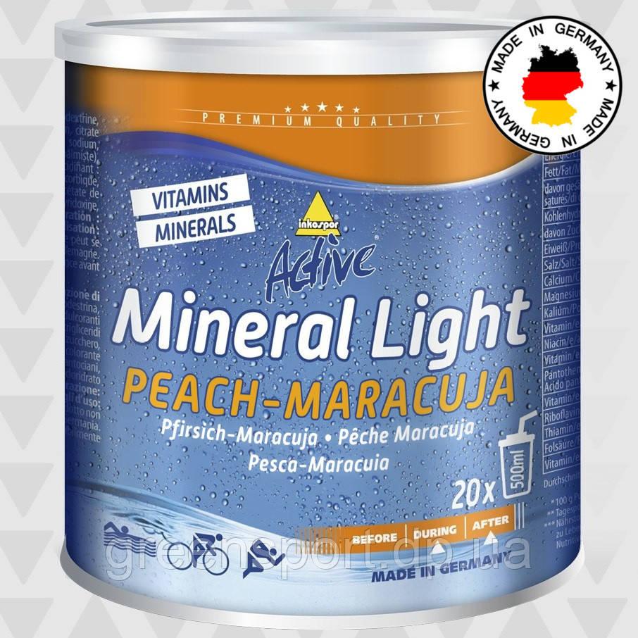 Изотоник Inkospor Active Mineral Light (330 г) Персик-маракуйя