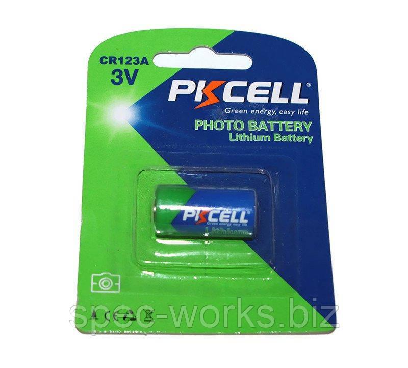 Батарейка CR123A, 3 Вольта