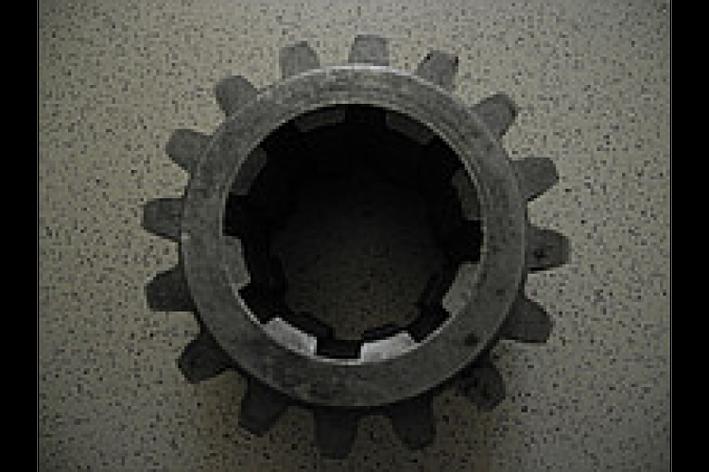 Шестерня ведущая редуктора КПП ЮМЗ Z=16, фото 2