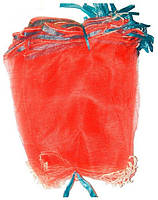Сетка для защиты винограда 5 кг 28*40 см, упаковка 50 шт, красная