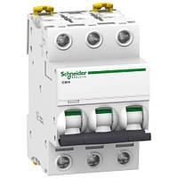 Автоматичний вимикач 3P 4A C Acti9 Schneider Electric iC60N A9F74304
