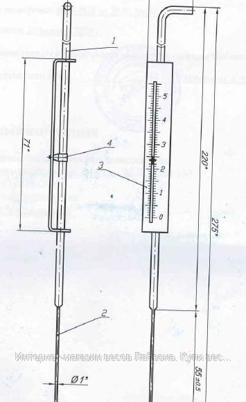 Запасні частини до апарату Сапожнікова. Голка пластометрическая