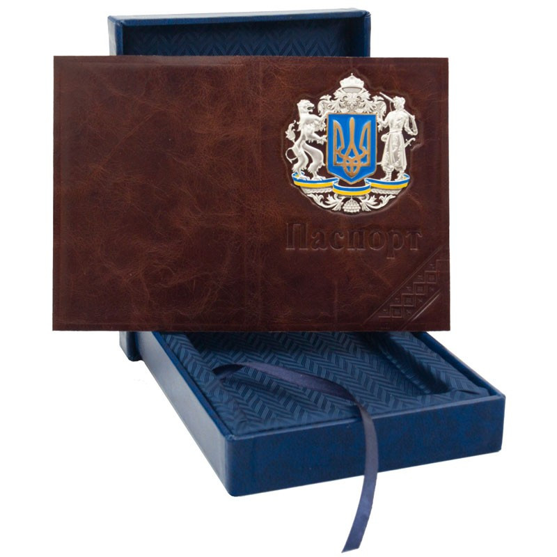 "Обложка на паспорт ""Герб Украины"""