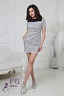 Платье полоску с корманами 009D/01, фото 1