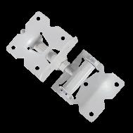 Комплект навісів для хвіртки (метал білий) 2 шт