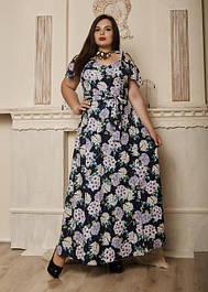 Платья в пол женские больших размеров