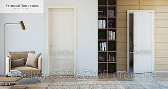Дверь межкомнатная SOPHIE дерево натуральное с наличником 900х2100х45 мм