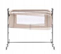 Детская кроватка Kinderkraft NESTE (бежевый цвет), фото 1