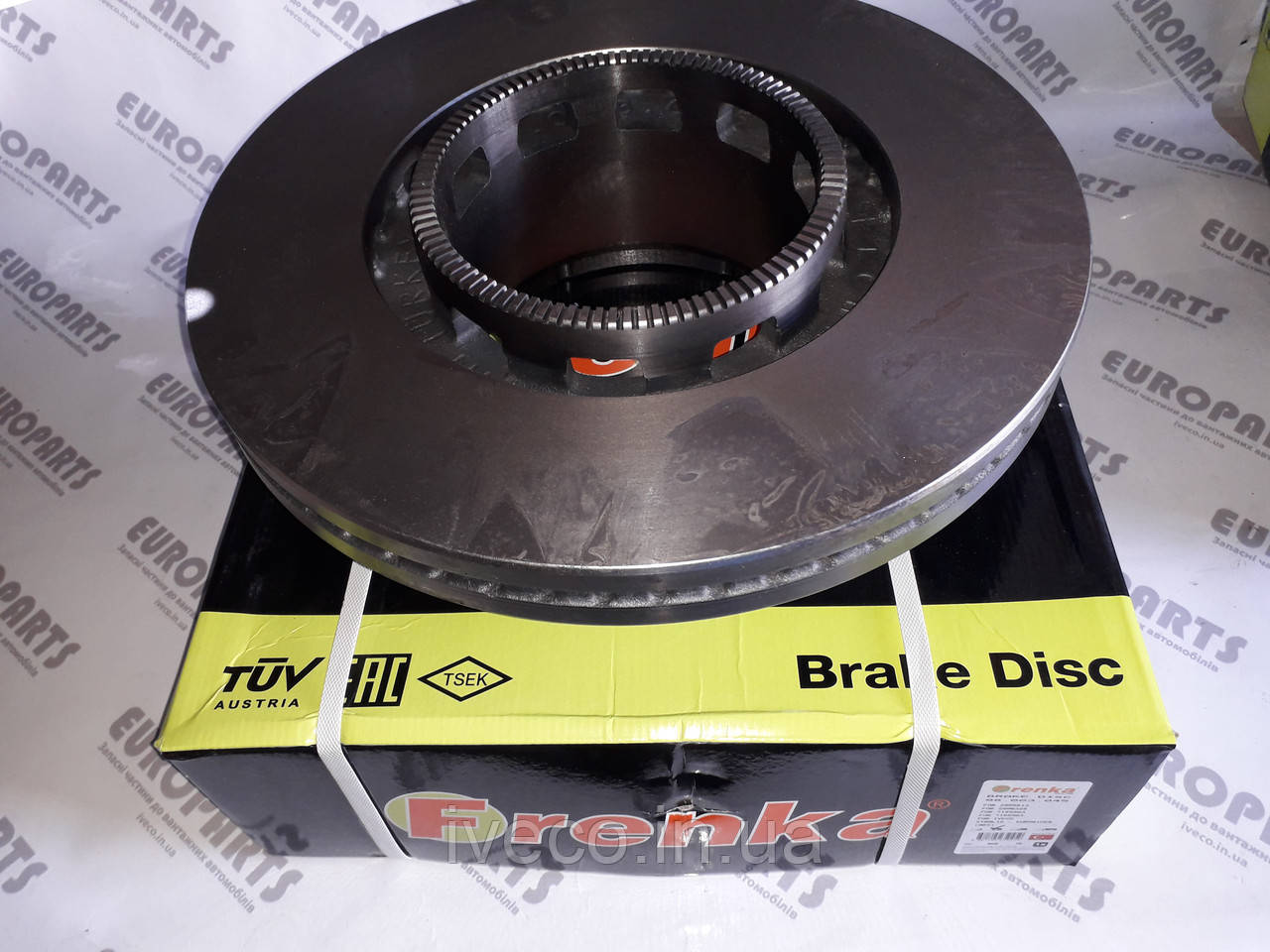 Диск тормозной задний Iveco Stralis Ивеко Стралис 2995812 2996328