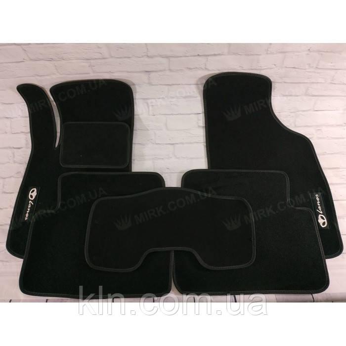 Коврики для салона автомобиля текстильный Daewoo Lanos МКП 5дв. 1997- Beltex черный