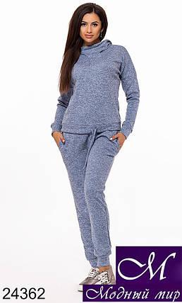 Теплый женский спортивный костюм (р. S, M, L) арт. 24362, фото 2