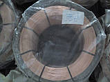 Проволока сварочная омедненная СВ08Г2С ø1,0мм K300 (15кг), фото 6