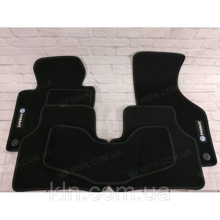 Премиум коврики в салон автомобиля текстильный Volkswagen Passat B7 2010-2015 Beltex черный premium