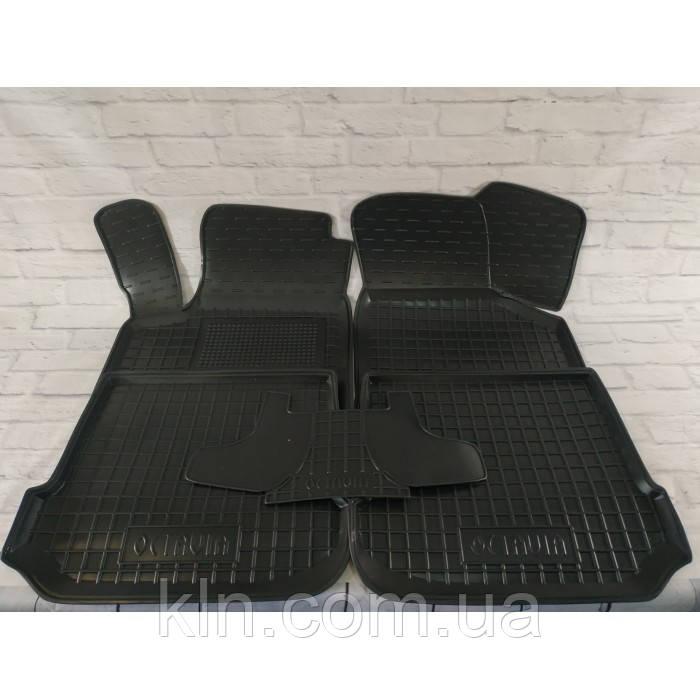 Полиуретановые (резиновые) коврики для салона автомобиля Skoda Octavia A4 1996-2010