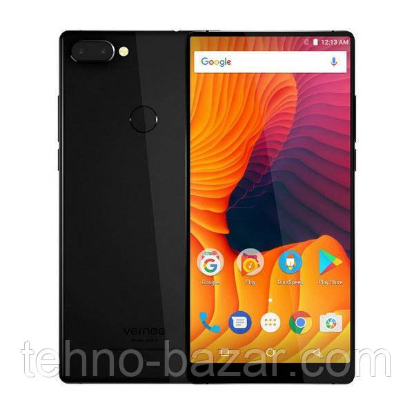 Смартфон Vernee M2 (Mix2) 6/64gb Black MediaTek Helio P25 4200 мАч