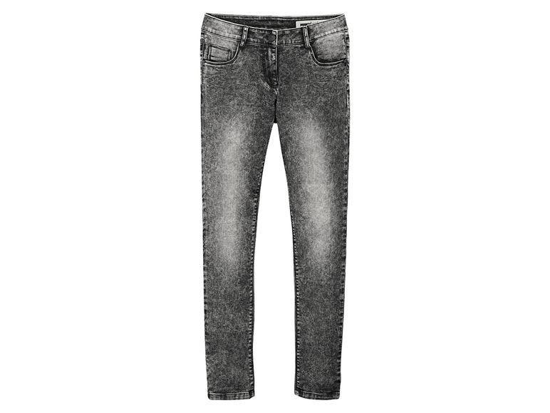 Стрейч джинсы варенки темно серого цвета Pepperts р.152