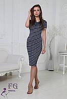 Платье женское тельняшка  085, фото 1