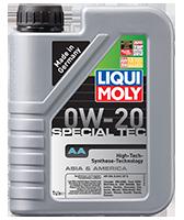 LIQUI MOLY SAE 0W-20 SPECIAL TEC AA 1л