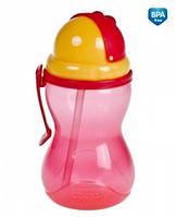 Cпортивная бутылка с трубкой поильник бидончик Canpol Babies