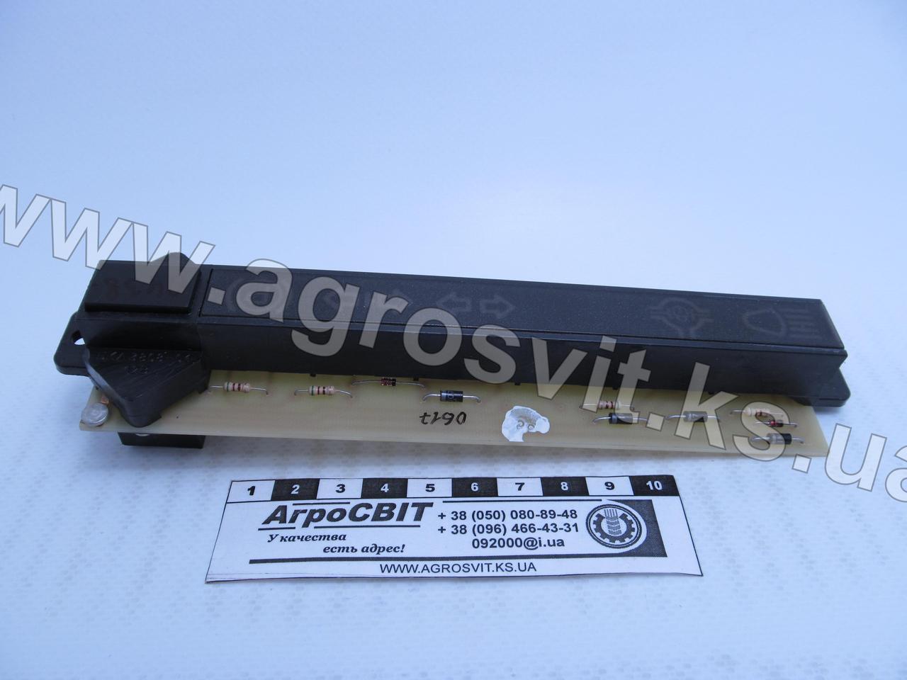 Блок контрольных ламп МТЗ, каталожный № БКЛ-3803-01