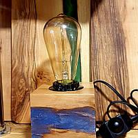 Ночник деревянный с лампой Эдисона 2019 !