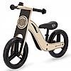 Деревянный велосипед UNIQ Kinderkraft (Черный)
